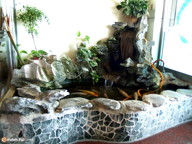 室内鱼池防水,室内鱼池,室内鱼池设计,室内鱼池风水高清图片