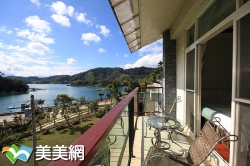 湖岸風情渡假旅店(日月潭面湖住宿)