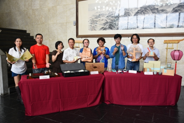南投新世代文創工藝展10月8日起茶博展出 8家工藝展特色